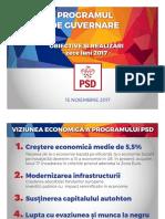 PSD - Masuri Realizate Program de Guvernare Noiembrie