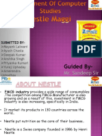 ASSIGNMENT Nestle Maggi
