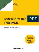 Lextenso étudiant - Procédure pénale (Corrigé détaillé)