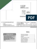 Manual de Usuario Lavadora Daewoo Dwd-mg1011