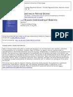 Perspectives on Political Science Volume 33 Issue 4 2004 [Doi 10.3200%2Fppsc.33.4.215-220] Blitz, Mark -- Leo Strauss's Understanding of Modernity