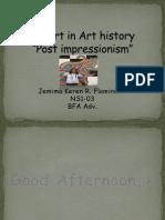 Post Impressionism art(Jemima's report)