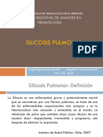 Silicosis Pulmonar 2016