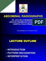Radiology Abdomen Interpretations