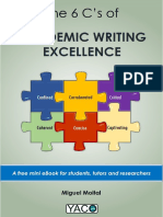 6 Cs of Academic Writing Excellence