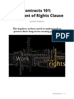 Contracts 101- The Grant of Rights Clause by Jane Friedman