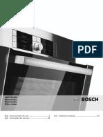 Manual de Instrucciones Bosch Hmt75g654