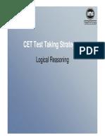 Back to CET -  Logical Reasoning.pdf