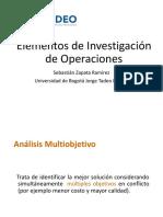Clase 3.1. Analisis Multiobjetivo I
