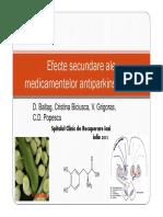 Efecte Secundare Ale Medicatiei Din BP1