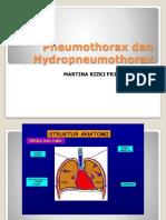 Pneumothorax Dan Hydropneumothorax