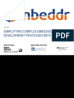 Simplifying Complex Embedded Development Processes With m Bed Dr