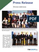 313 2017 FIM Europe at AMZS Awards