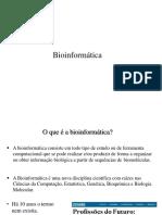 01. Introdução a Bioinformática