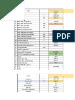 analisis tarifario