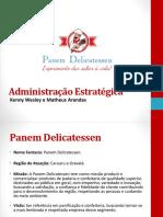 Apresentação Administração Estratégica
