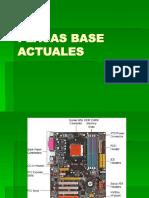 Placas Base Actuales