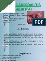 tema faringoamigdalitis  + caso clinico- DIEGO MURUCHI FLORES