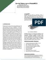 Transmisión de Datos Con El NodeMCU