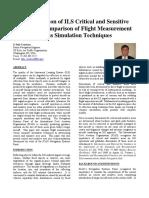Determination of ILS Critical and Sensitive.pdf