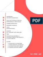 Gasto Publico- Macroeconomia II - UJCM (RASP)