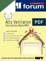 Attic Ventilation Calculations Made Easy