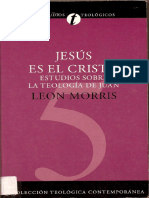 Documents.mx Jesus Es El Cristo Leon Morrispdf