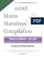 Mains Marathon December Compilation