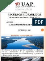 Expo Recursos Hidraulicos