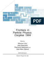 (NATO ASI Series 350) Albert de Roeck (Auth.), Maurice Lévy, Jean Iliopoulos, Raymond Gastmans, Jean-Marc Gérard (Eds.)-Frontiers in Particle Physics_ Cergèse 1994-Springer US (1995)