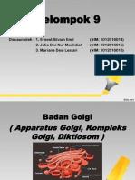 PPT Biologi Sel (Badan Golgi)
