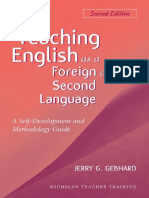 (Michigan Teacher Training) Jerry G. Gebhard-Teaching English as a Foreign or Second Language_ a Teacher Self-Development and Methodology Guide-The University of Michigan Press (2013)