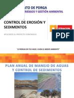 Capacitacion Control de Erosion y Sedimentos - Manejo Topsoil