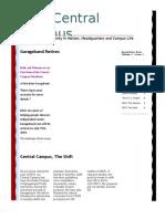 LDM Central Campus Issue 1 Newsletter