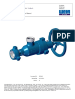 SPM Choke Valves Operation Instruction and Service Manual
