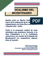 Sindicalismo Del Bicentenario