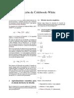 Ecuación de Colebrook-White