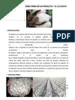 Algodon Informe Educacional de Bolivia El Alto