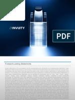 Invuity Investor Presentation - Q3 2017