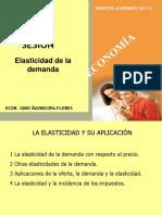 SESIÓN - Elasticidad de La Demanda