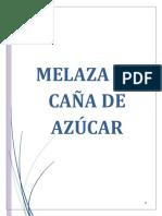 Monografía de Melaza de Caña de Azúcar