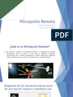Percepción Remota