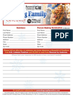 Deserving Family Giveaway