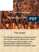 the devil  s horsemen web quest