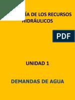 CLASE - Demandas Agricolas