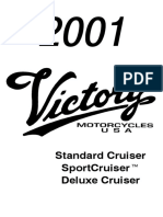 2001 Vinctory Cruiser Deluxe Manual