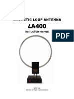 LA400 Manual Antenna Active