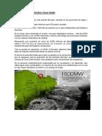 Central Hidroeléctrica Manduriacu