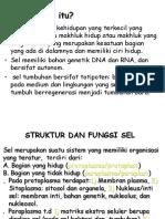 Struktur Dan Fungsi Sel