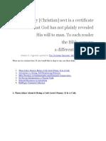 Twenty Five Years As A Seventh-day Adventist